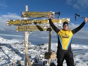 Christian man climbs Kilimanjaro to raise funds for a well