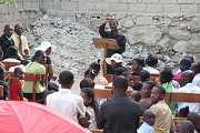 Community comes together to help Haiti