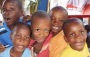 Shoes one easy solution to disease increase in Haiti