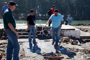 Despite devastation, pastor and church put Christ first