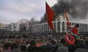 A violent Revolution hits Kyrgyzstan