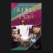 Prayer focus goes global