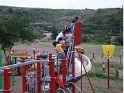 Playgrounds bless disadvantaged children