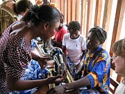 Vocational training for widows and orphans