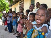 Flannelgraph and storytelling take the Gospel into Mozambique