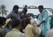 Donations sluggish for fear of Pakistani extremists