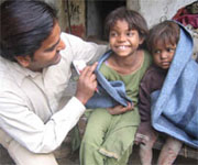 Good economic news in India, help needed for the poor in the north