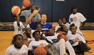 Dallas Mavericks support Buckner International this basketball season
