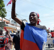 Tensions continue to seethe following Haiti's elections