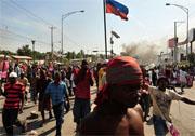 Compassion team 'locked-down' in Haiti