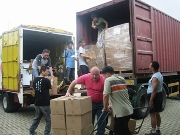 The hope of Christ heads for India in a shipping container