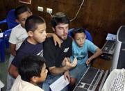 Computer lab helps slums in Costa Rica