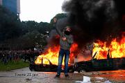 Anti-government protests erupt in Albania