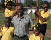Children distraught by political turmoil in Haiti