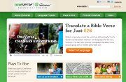 Web site thrusts Bible translation forward
