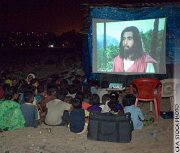 Anti-Christian militants put an end to Jesus film viewing