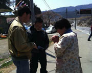 Church growing in Japan, relief continues