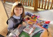 Your kids could breathe the first bit of hope into other kids' lives with 'Kits for Kids'