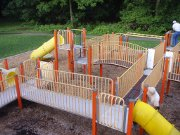 Stolen playground equipment winds up a redemptive story