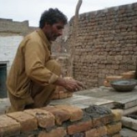 Underfunded flood work in Pakistan helps outreach team
