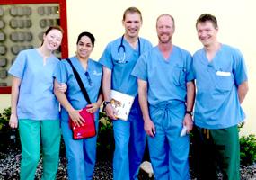 Medical team helps cholera victims in Haiti