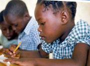 Backpacks bring hope to Haitian kids