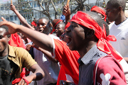 Political tensions give way to protests