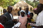 An education program in Uganda teaches the three A's