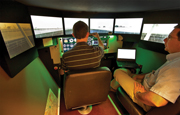 Flight simulator arrives at MAF