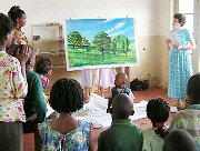 Discipleship the challenge after thousands of kids come to Christ in Congo