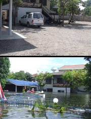 Flooding, outreach far from over in Thailand