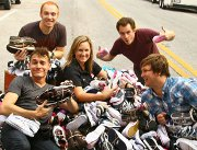 Radio stations team up with Buckner to collect thousands of shoes