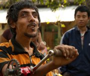 Christ comes to disabled Nepalese on a tricycle