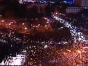 Christians hold worship service in Tahrir Square to kick off New Year