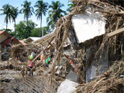 Churches responding to flood victims in Philippines