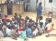 A new report reveals plight of children in urban poverty; ministry finds surprising venue