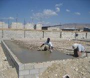 Block layers desperately needed to work on orphanage before rainy season