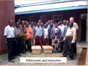 Missionary team teaches bee-keeping as small business in Tanzania