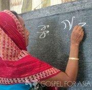 Literacy erases shame, brings hope