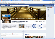 Ministry expands under Facebook