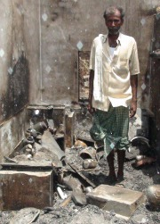 25 families homeless from fire