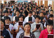 2012 goal on pace for legal Bibles…in China!