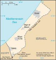 Gaza Christians protest