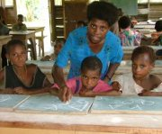 Safe water makes the difference for school attendance in Papua New Guinea