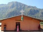 Mission team visits church facing closure