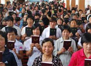 Thousands of Bibles distributed in China