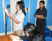 A new recording studio helps spread the Gospel in Indonesia