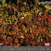10,000 young Egyptians gathered to worship