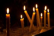 Egypt Coptic Church Candle Hector de Pereda