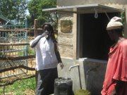 Cholera hits home for the water ministry team